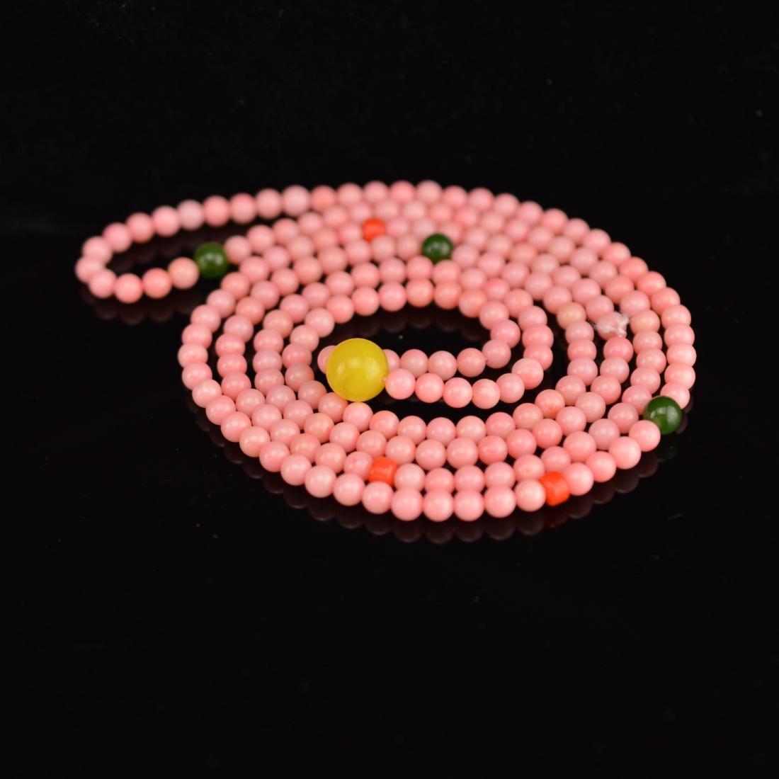 Natural Burma Coral Bracelet