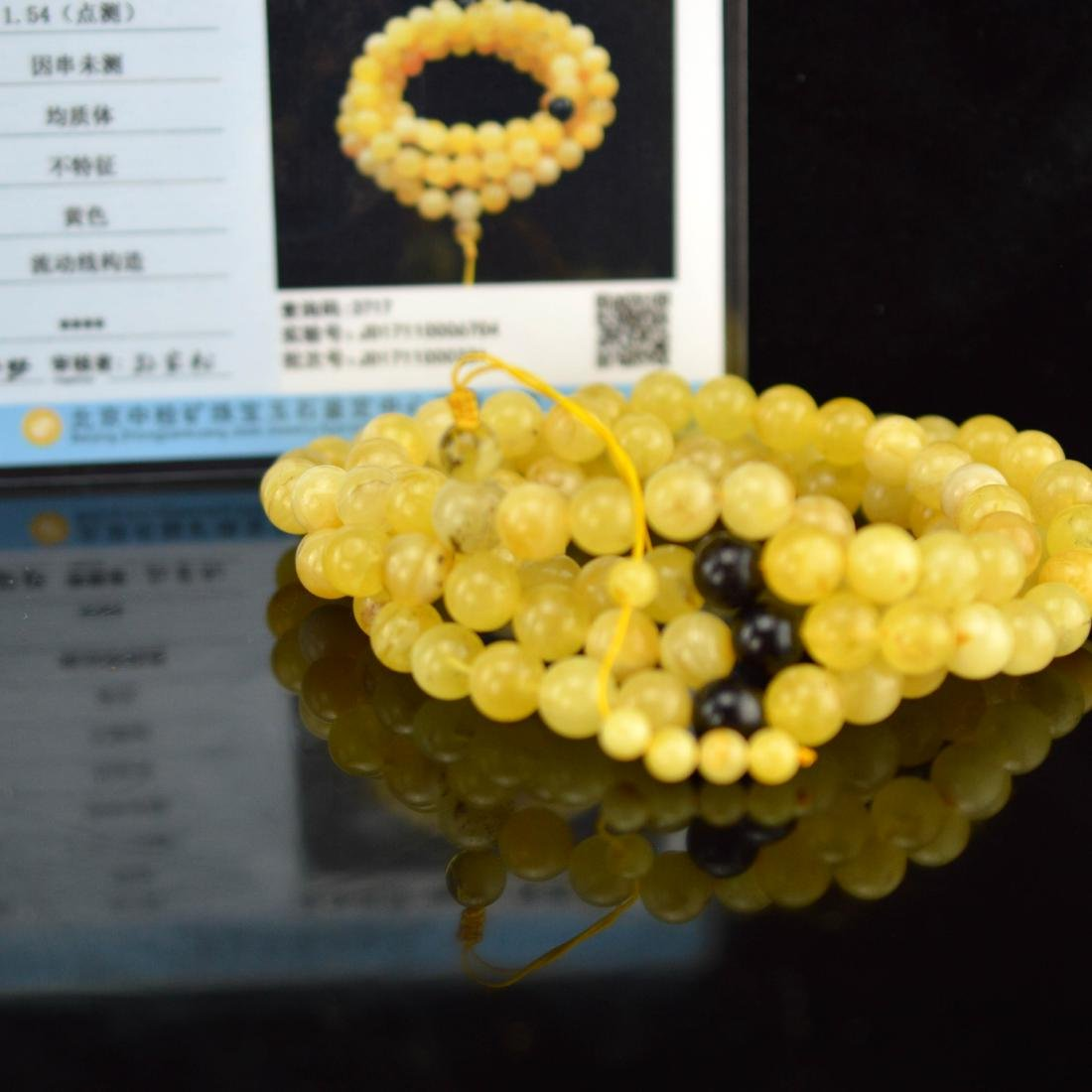 Certified Natural Royal amber bracelet