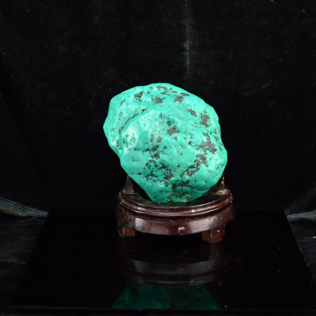 Turquiose Stone with stand