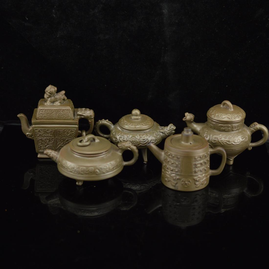 Set of Zisha teapot