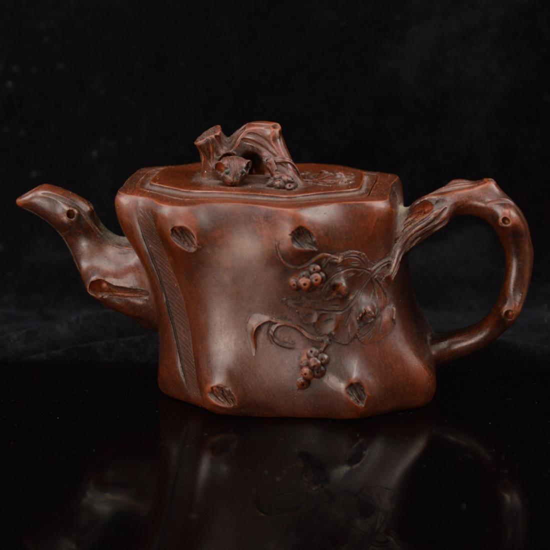 Grape style Zisha teapot