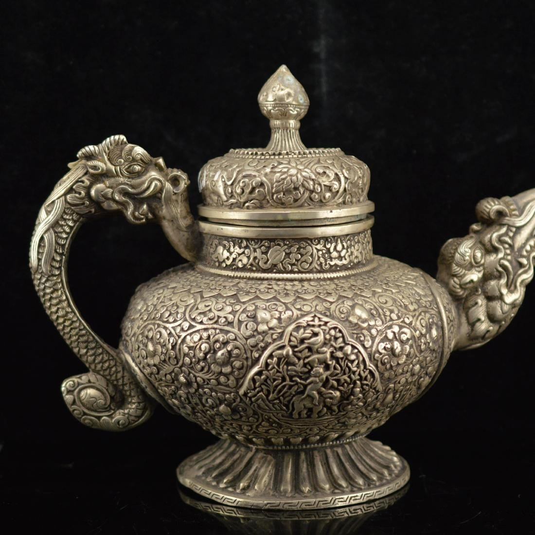 Tibet Tin style tea pot