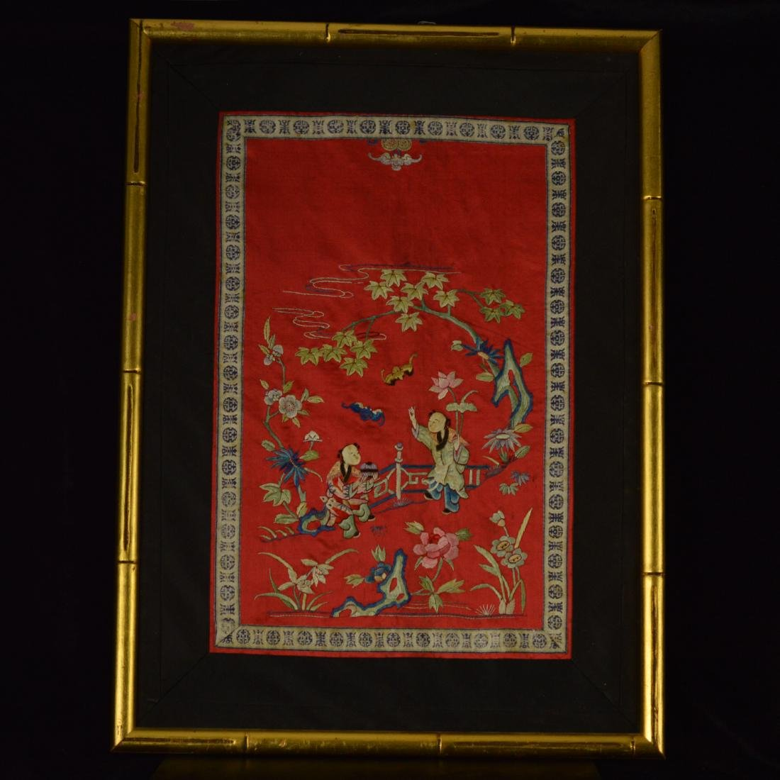 embroidery with frame