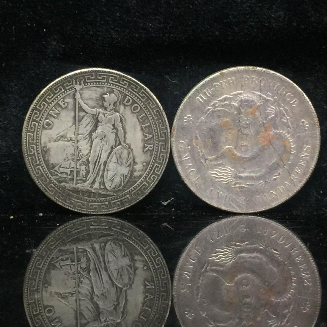 Silver coin pairs