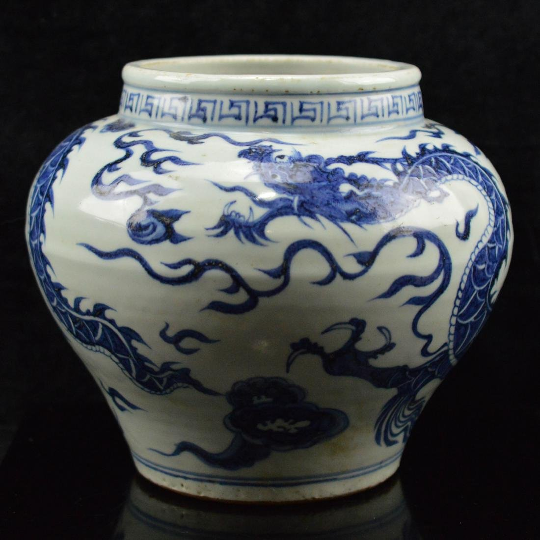 Yuan Style blue and white Porcelain Jar