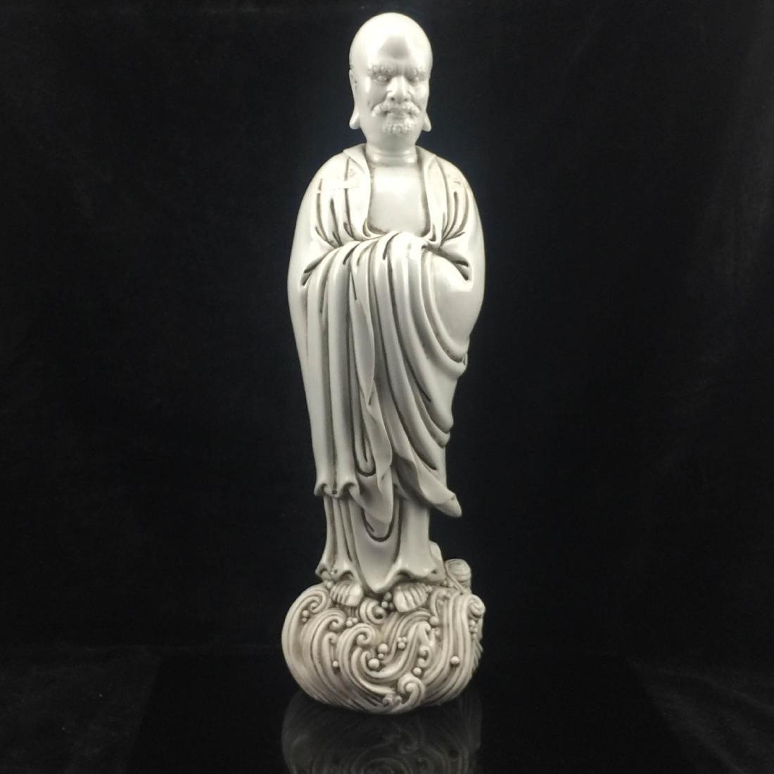 Da Mo statue Mark Ho Chou Song