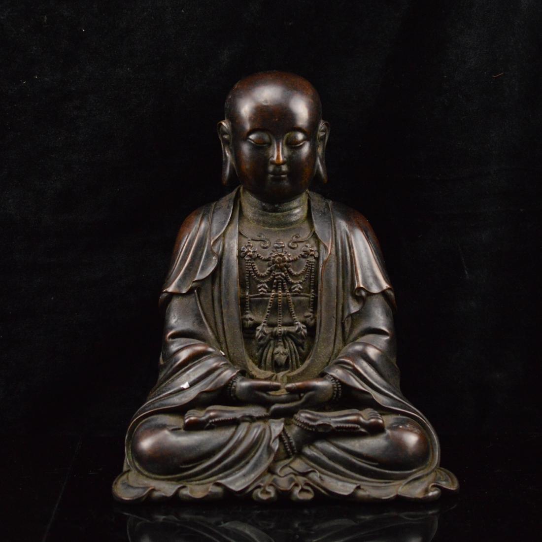 Bronze Statue Mark Da MIng Yong Le