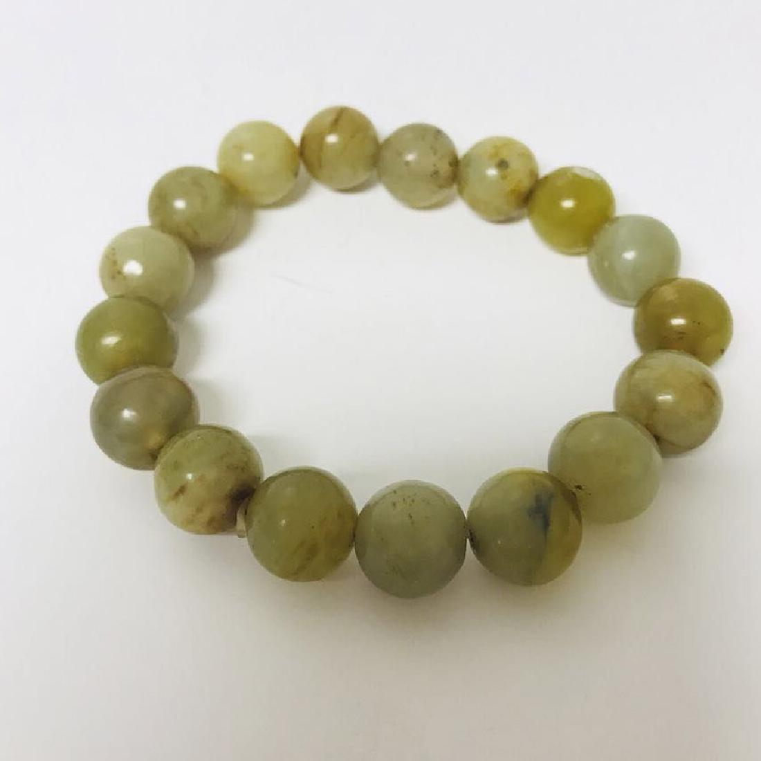 Old Jade beads bracelet