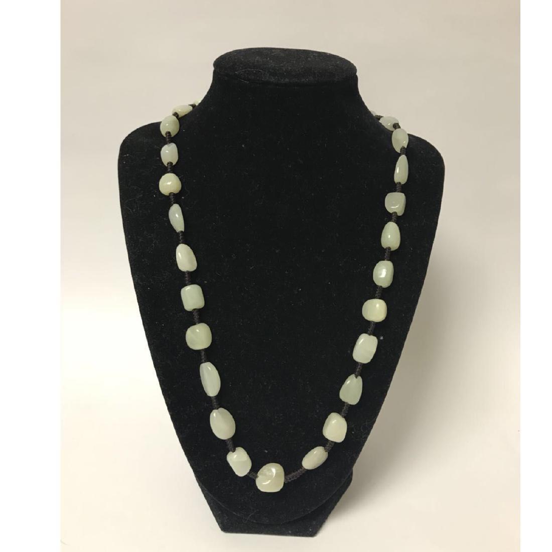 Natural Jade beads necklace