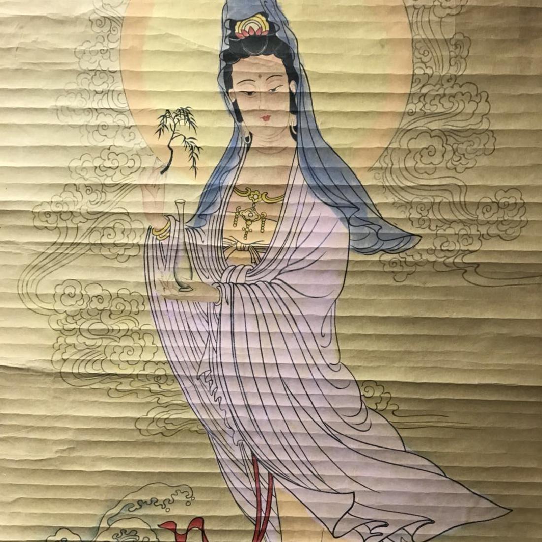 Scroll Painting: Guan Yin - 3