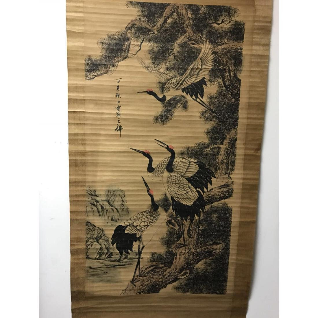 Scroll Painting: Crans