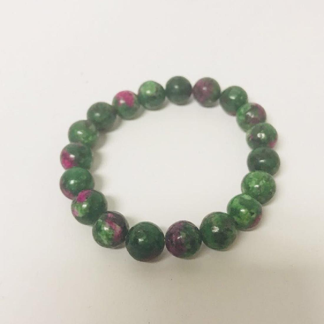 Ruby Ziocite beads Bracelet