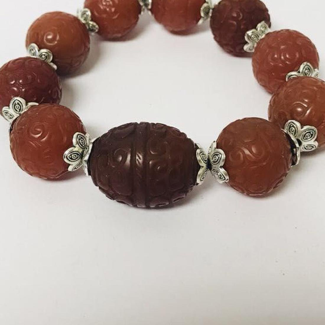 Southern Red Agate Bracelet