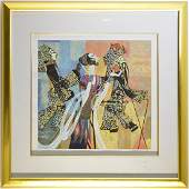 Authentic Ting Shao Kuang AP Serigraph