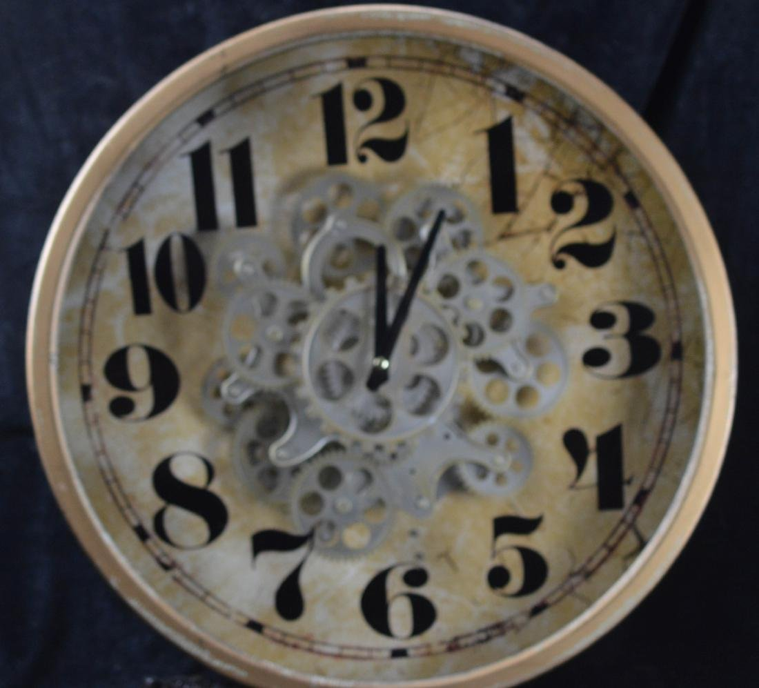 Old Transparent Clock