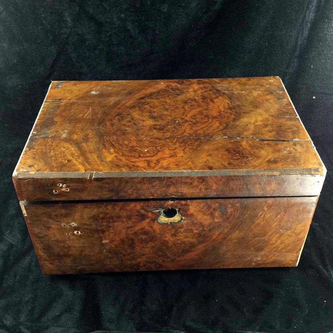Old Burlwood Box