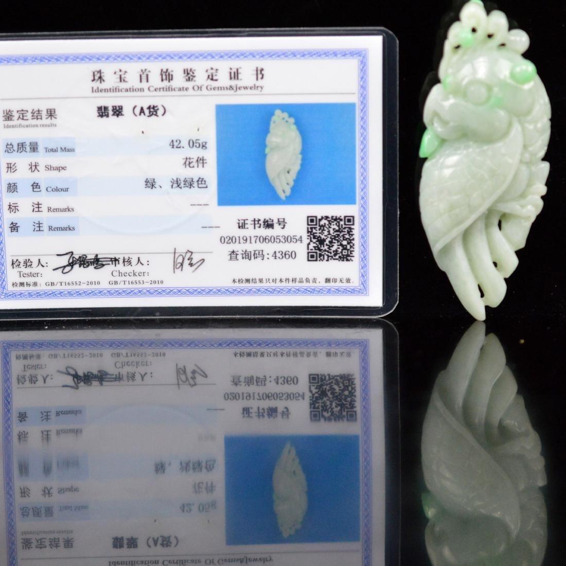 Natural Jadeite Pendant