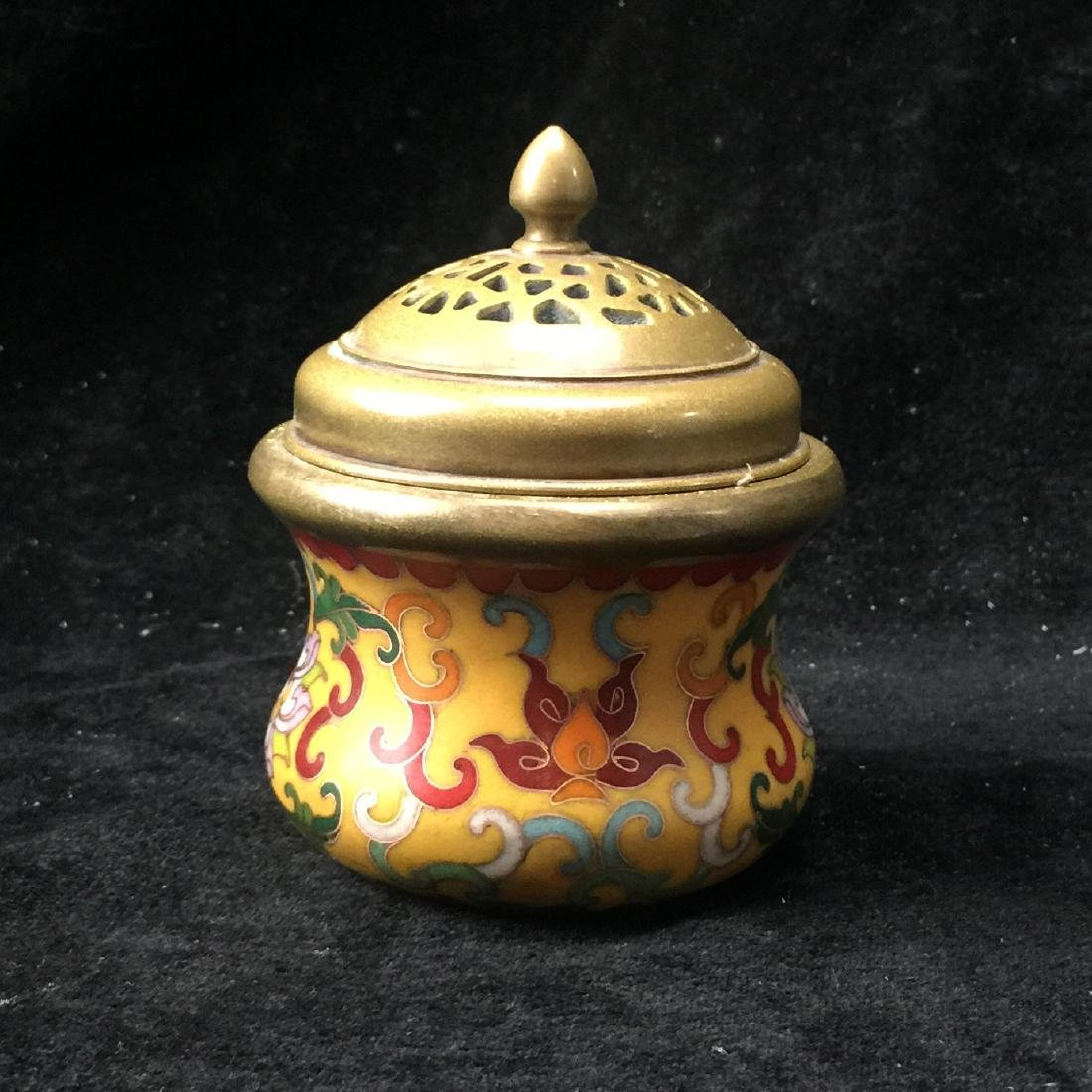 Cloisonne Enamel Incense Burner