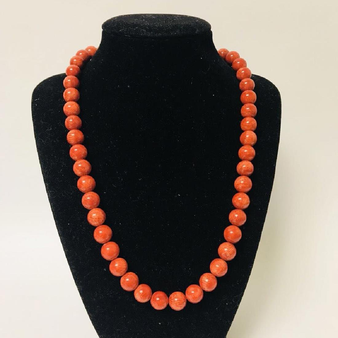 Red Coral Necklace - 4