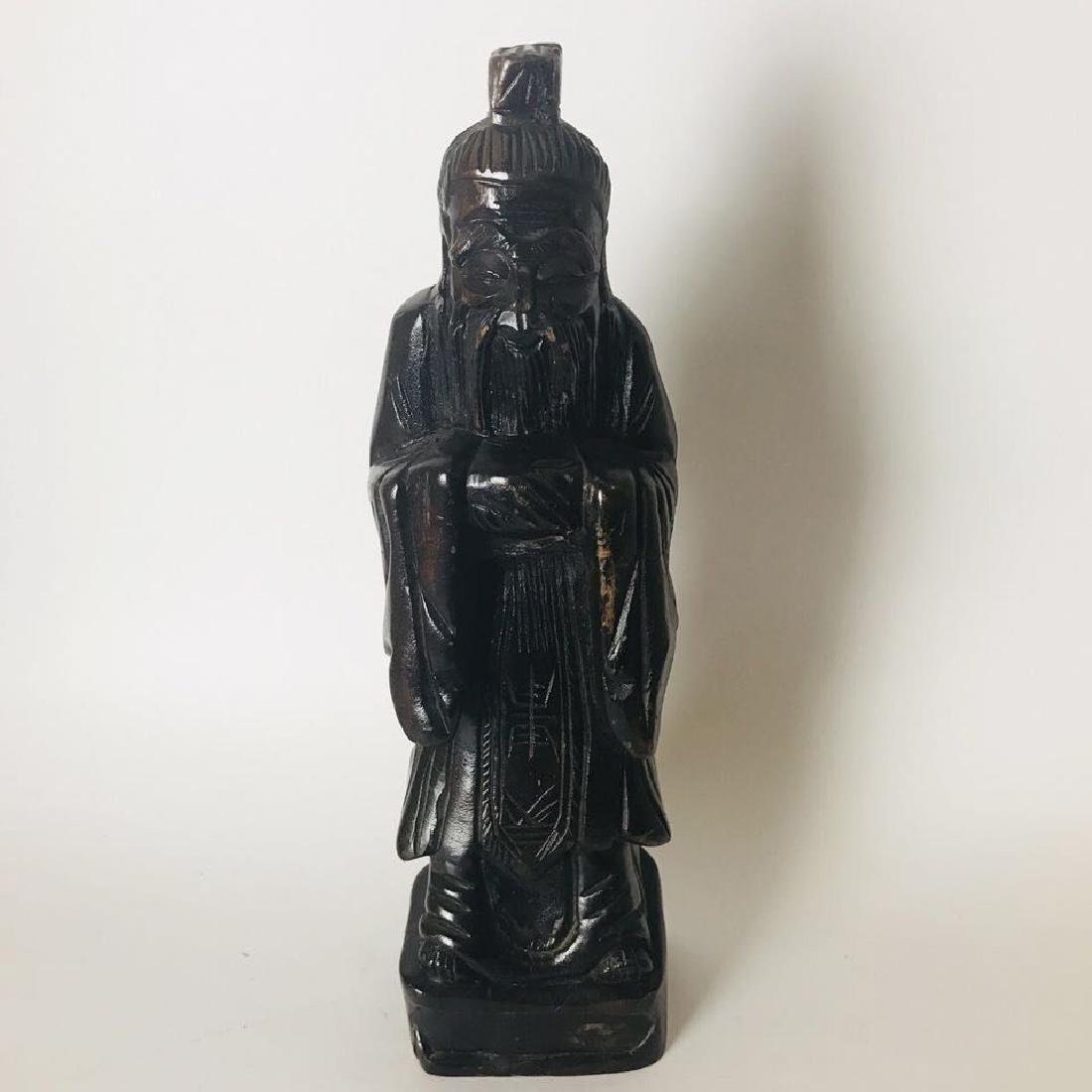 Wood Carved Shou XingGong