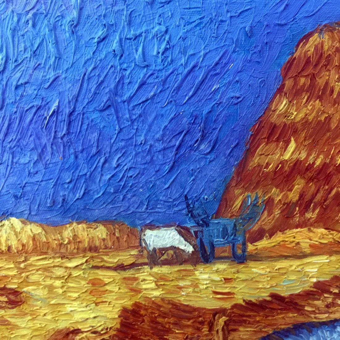Farmer Oil Painting - 3