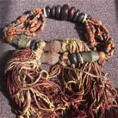 Ming Dynasty Gil bronze Buddha Tibetan-style jewelry:
