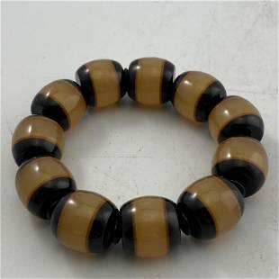 Horn Bone Bead Bracelet