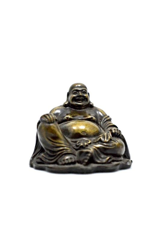 Copper Laughing Buddha