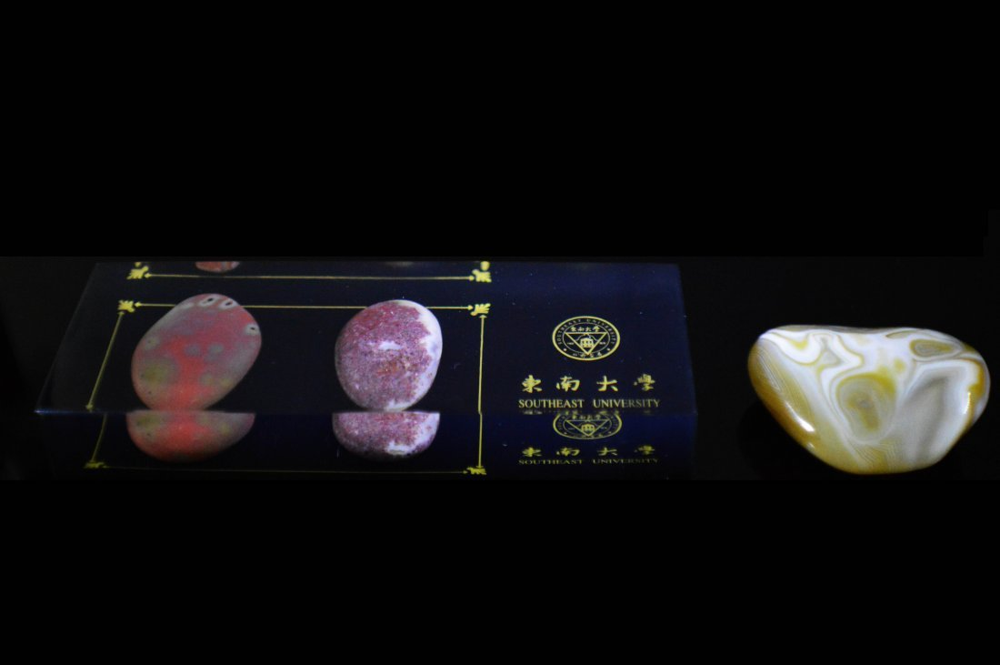 Two Agate Stone