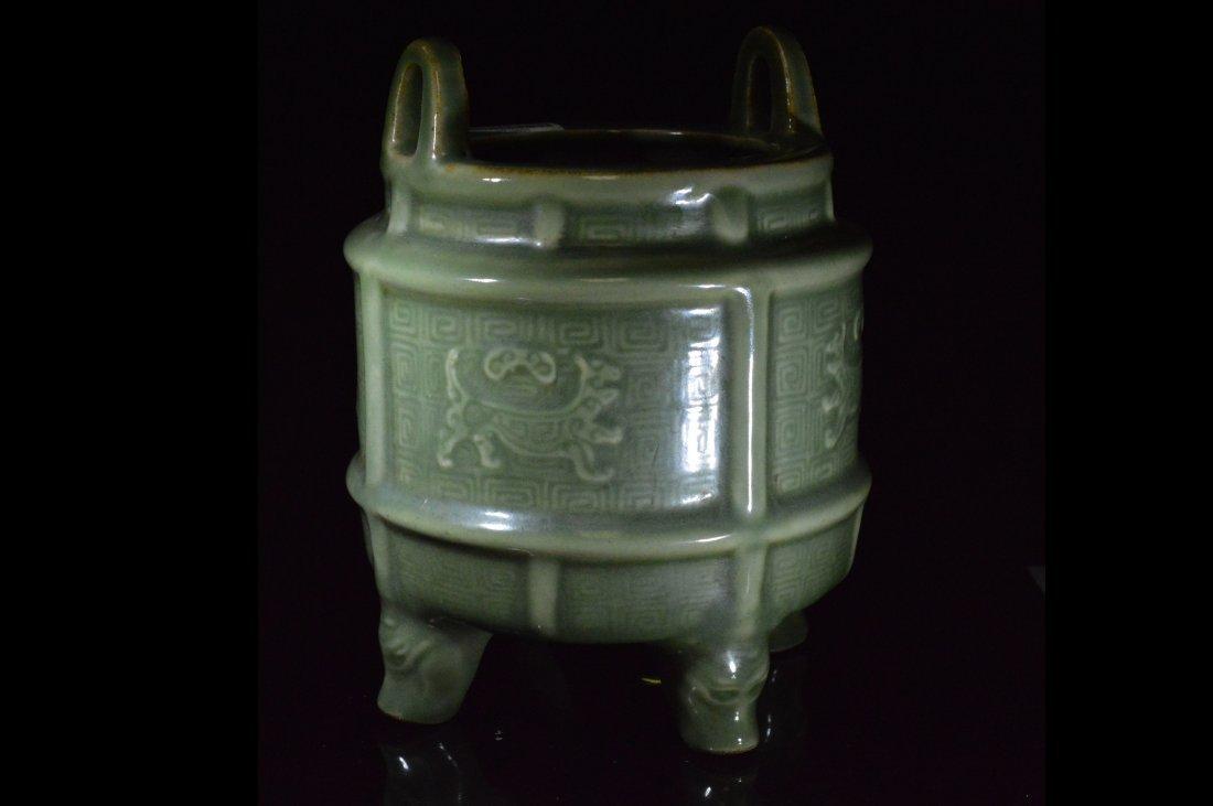Longquan Celadon Porcelain Censer
