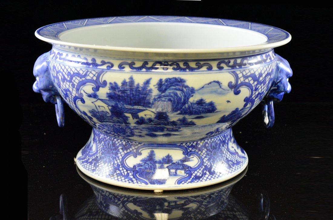 Porcelain Decorative Bowl (Large)