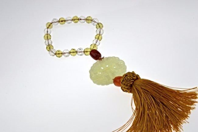 Jade Carved Pendant