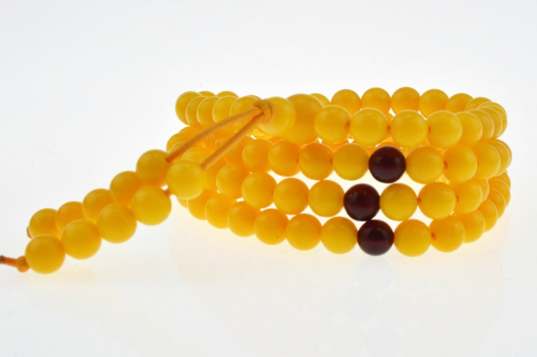 Royal Amber Beads Necklace