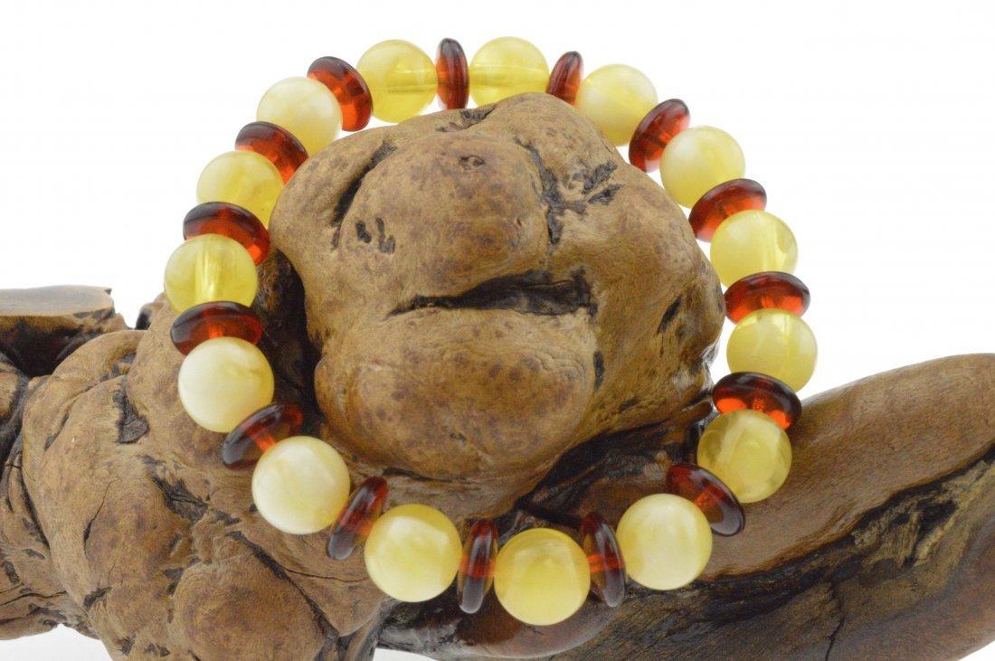 Royal Amber Beads Bracelet