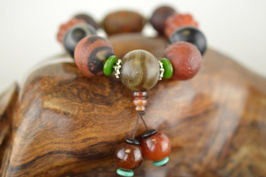 Agate Beads Bracelet