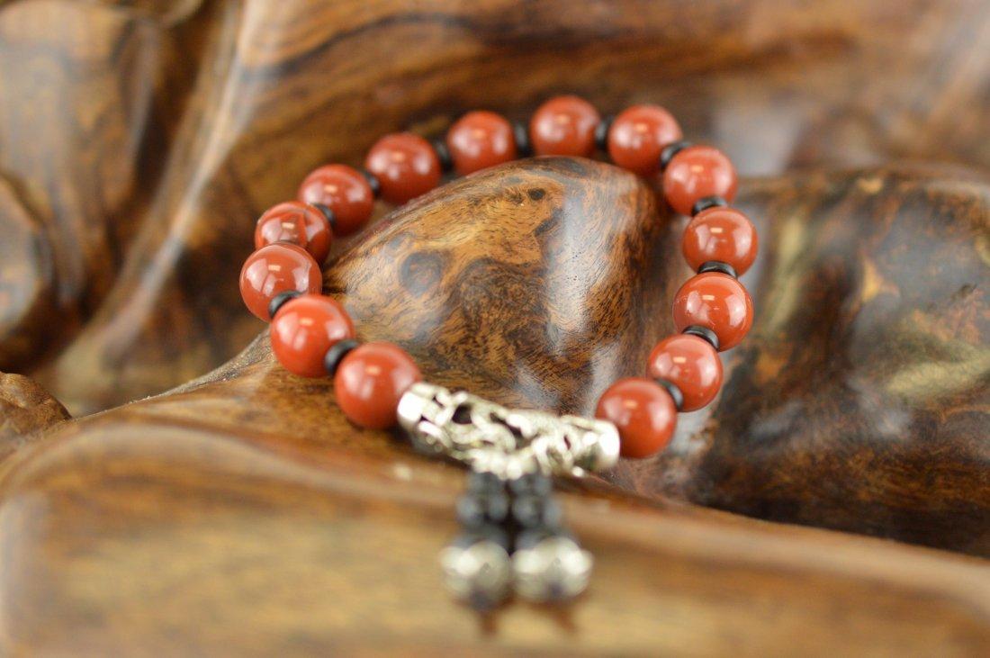 Nanhong Agate Beads Bracelet
