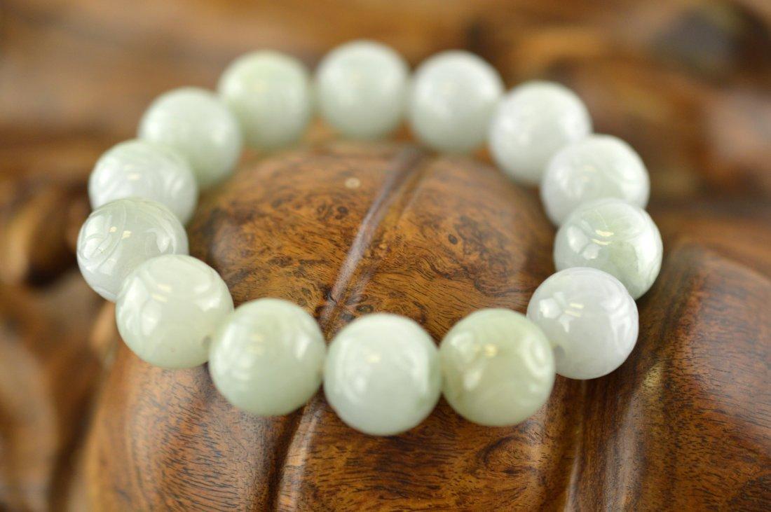 Jadeite Beads Bracelet
