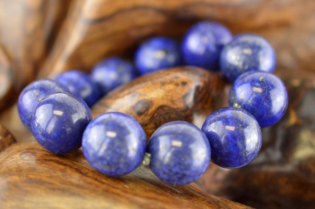 Lapis Lazuli Beads Bracelet