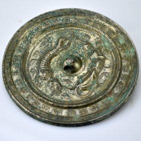 Old Bronze Mirror