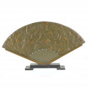 Trilobite Fossil Fan Décor