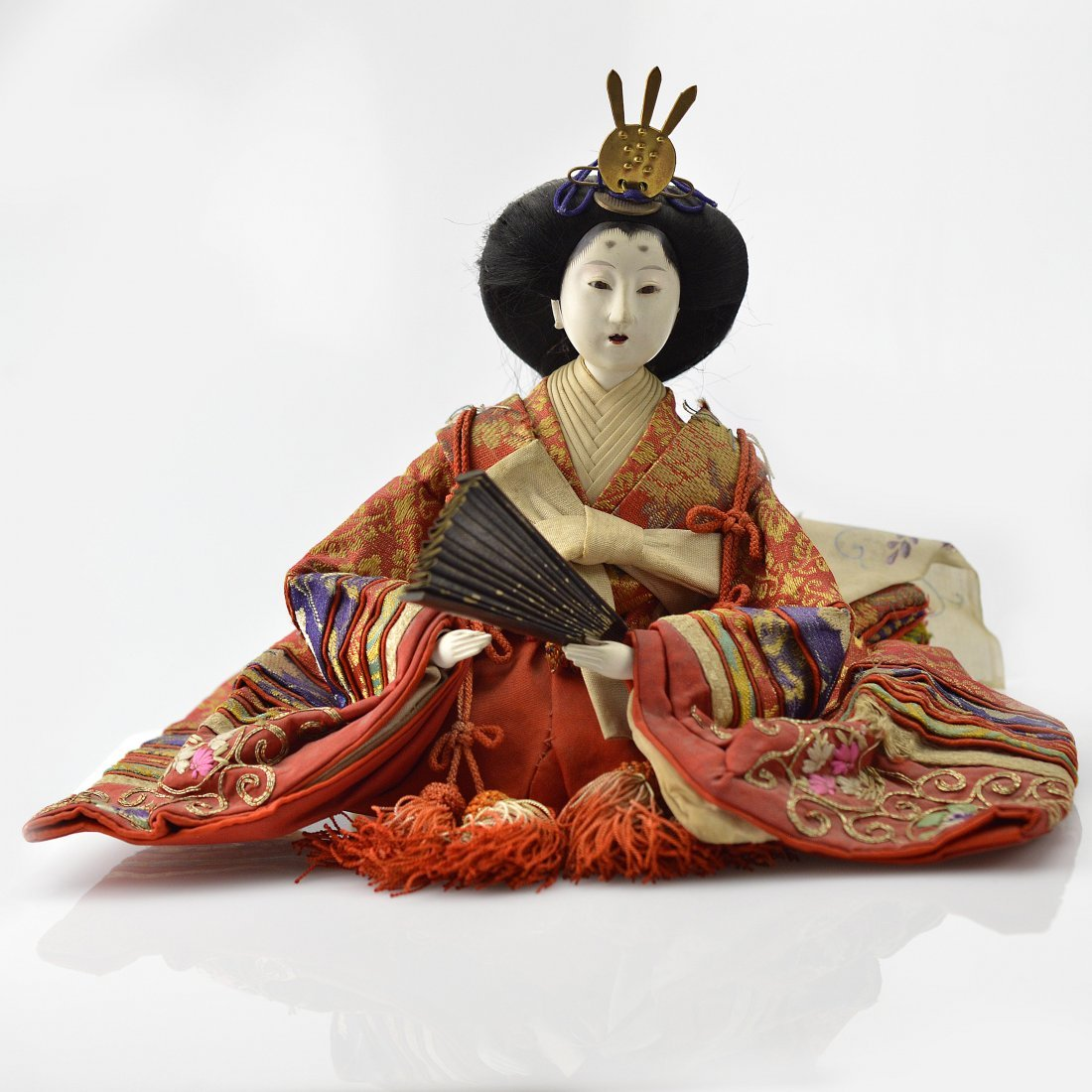 19th Century Japanese Princess Doll