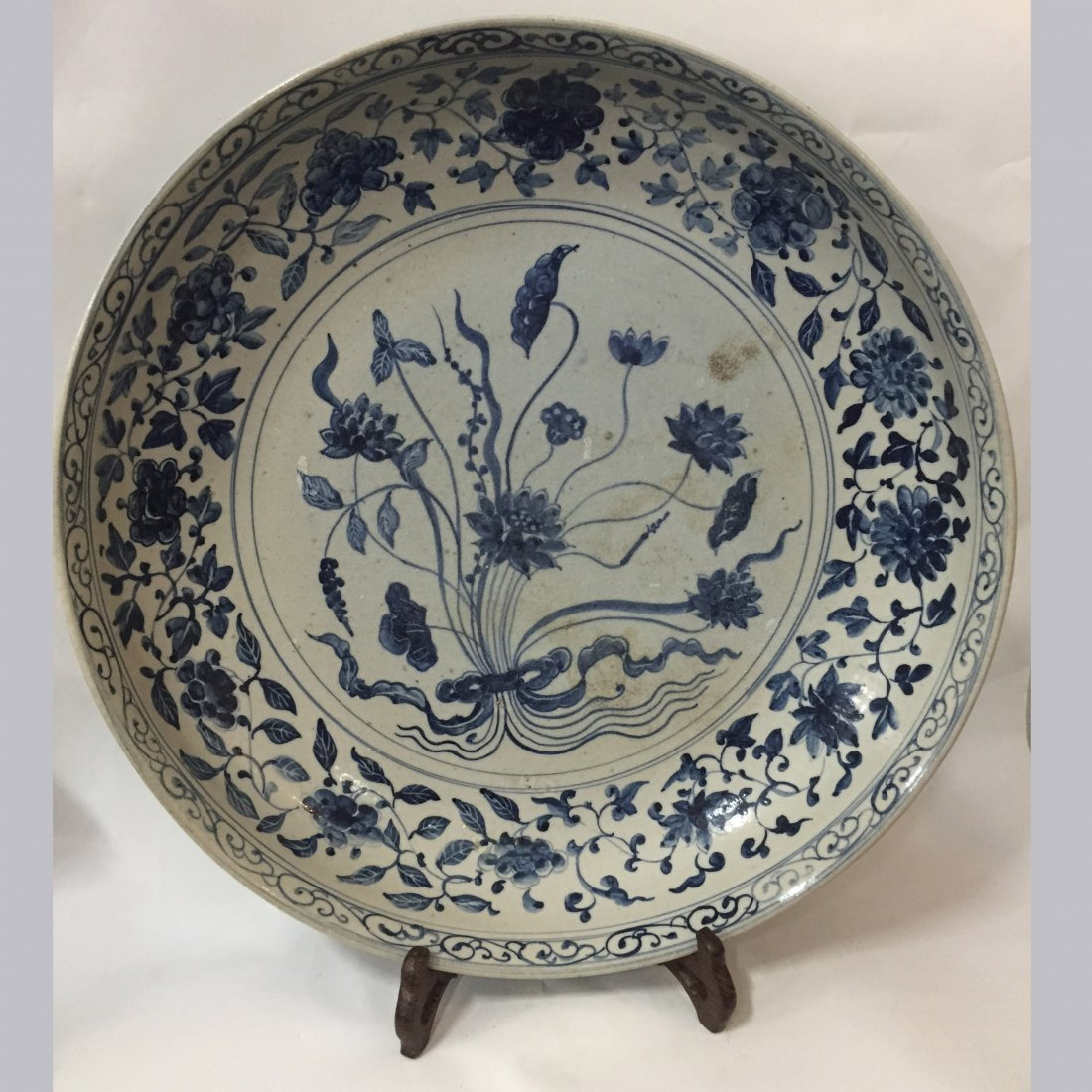 Late-Ming Early-Qing Marked Blue & White Porcelain