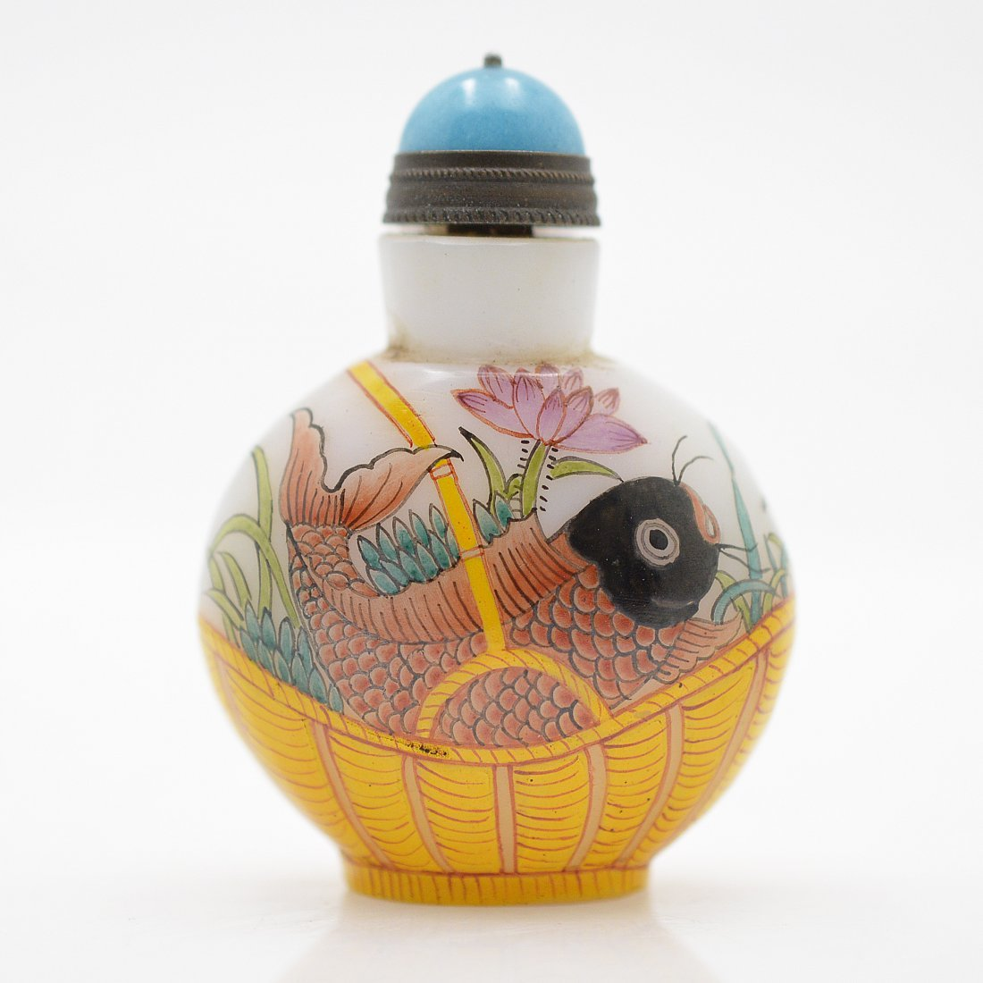 Marked Liuli Snuff Bottle