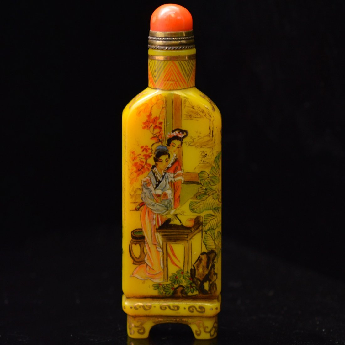 Marked Liuli Snuff Bottle