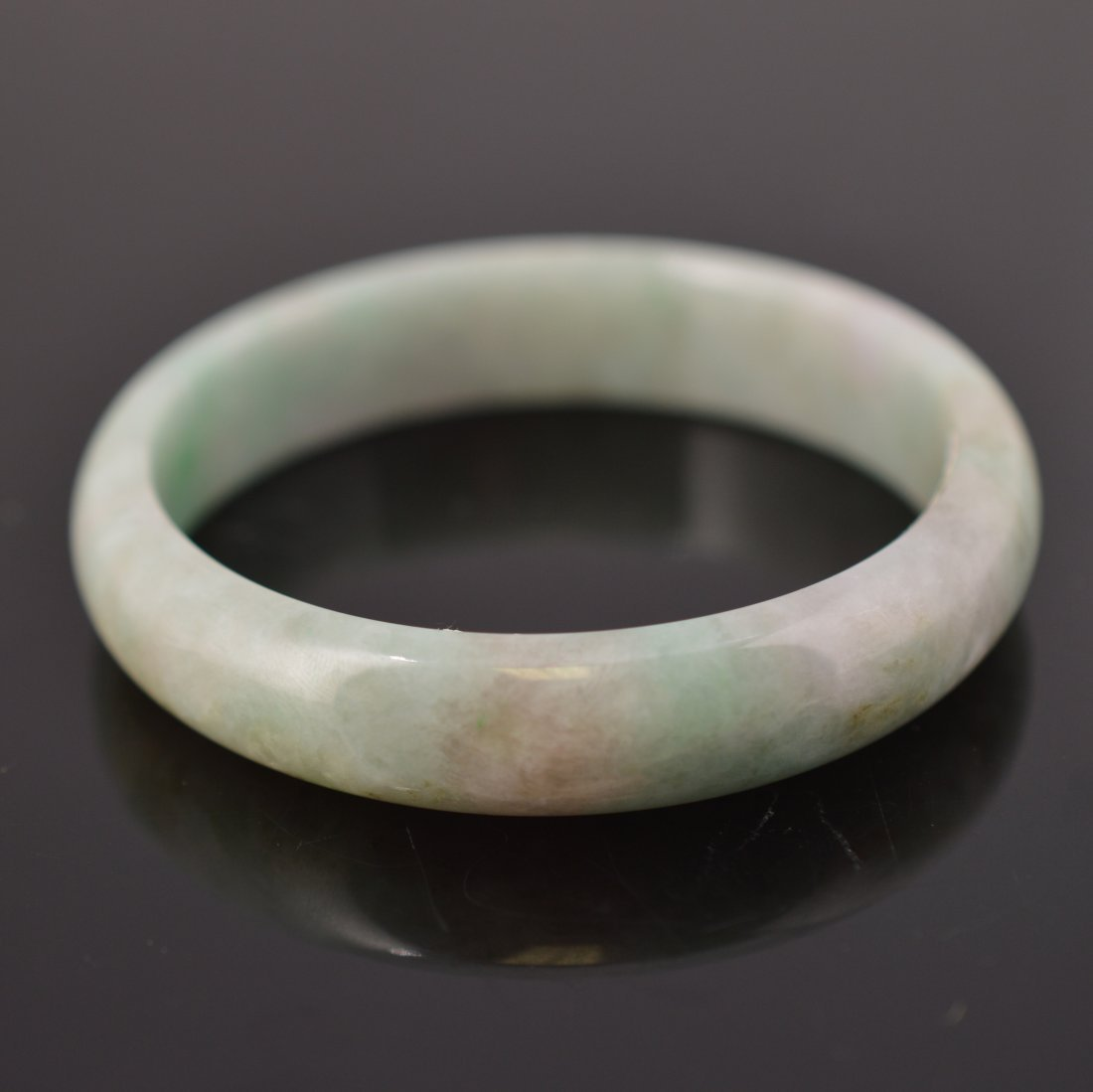 Natural Burma Jadeite Bangle - 3