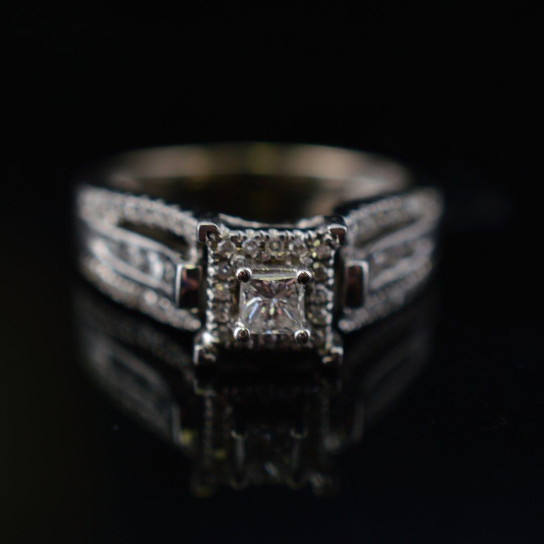 0.25ct Diamonds 14k White Gold Ring