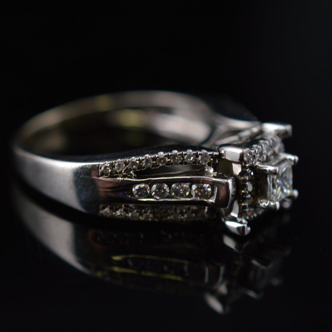 0.25ct Diamonds 14k White Gold Ring - 3