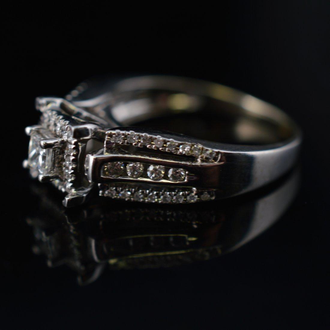 0.25ct Diamonds 14k White Gold Ring - 4