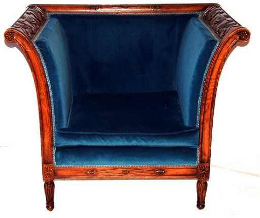 poltrona stile Luigi XVI
