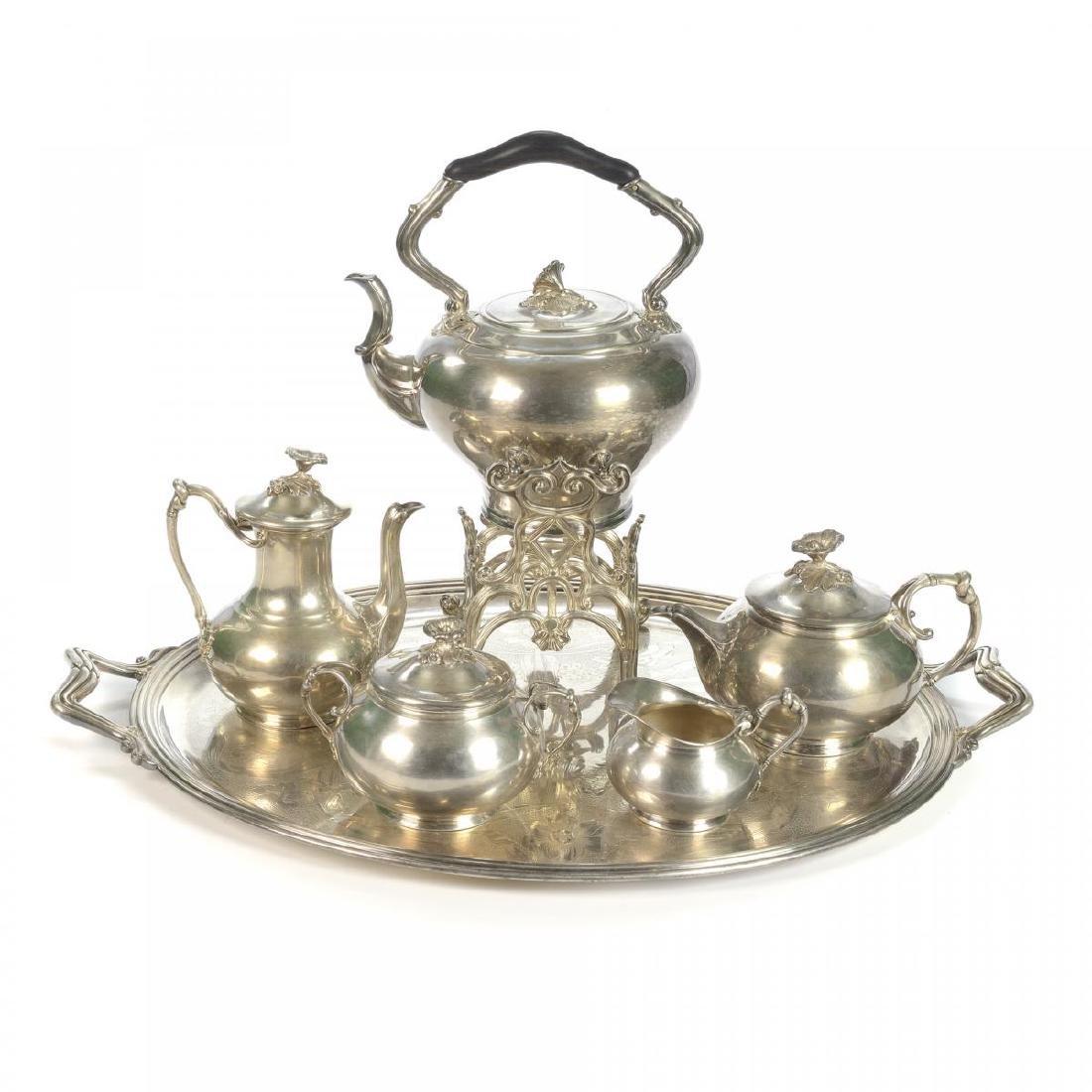 Christofle servizio da thè composto da grande